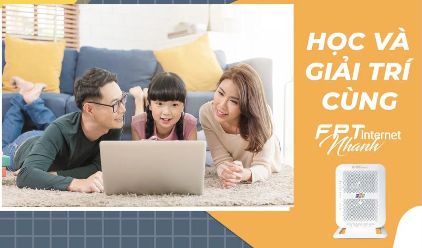 Lắp mạng FPT Đồng Nai   Học và giải trí Online cùng Internet FPT