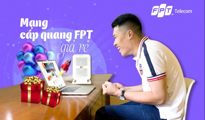 Lắp mạng FPT tháng 10 - Đăng ký online, tặng đến 3 tháng cước